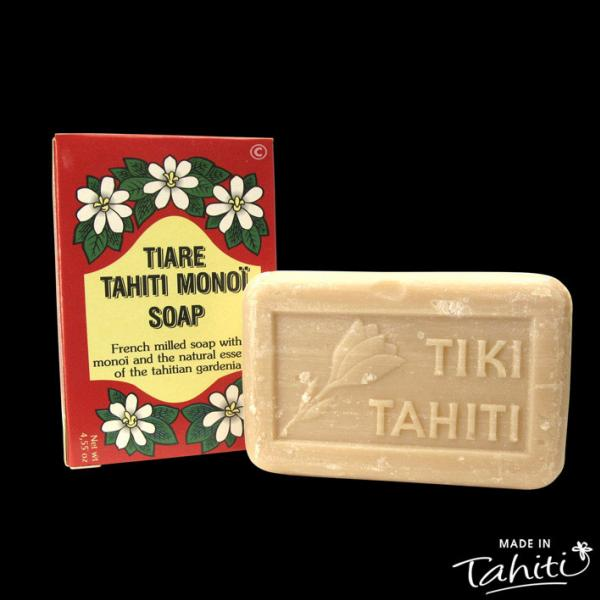 Ce savon contient 2% Monoï de Tahiti Appellation d'Origine. Son parfum est léger compte tenu de sa haute teneur en Monoï de Tahiti...