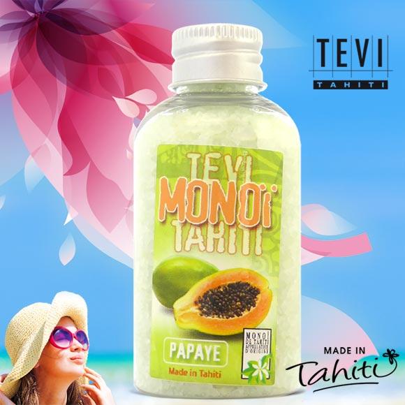 SELS DE BAIN TEVI TAHITI PAPAYE 90G