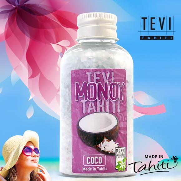 SELS DE BAIN TEVI TAHITI PARFUM COCO 90G