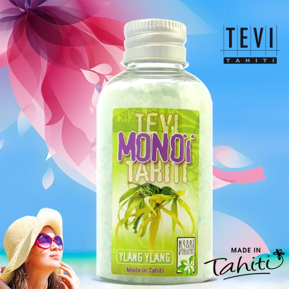 SELS DE BAIN TEVI TAHITI YLANG YLANG 90G