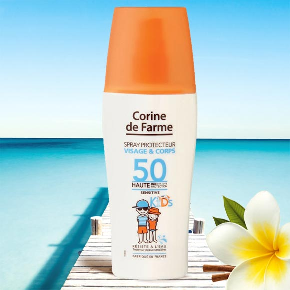SPRAY PROTECTEUR 150ML KIDS VISAGE ET CORPS SPF 50