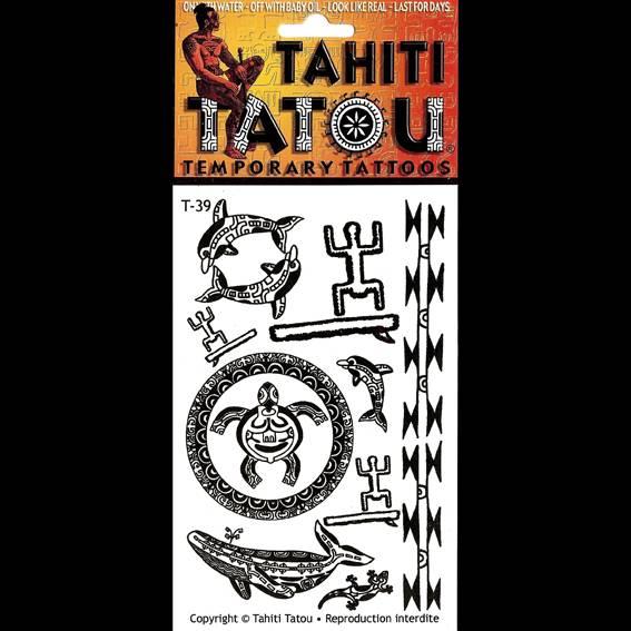 Tampons et animaux maohi sur votre peau pour une occasion ? Tahiti Tatou, tatouages temporaires en provenance directe de Tahiti