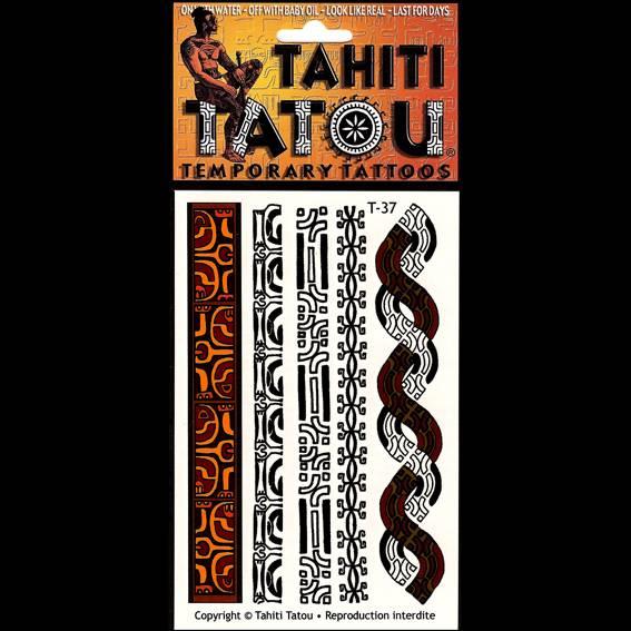Symboles marquisiens sur votre peau pour une occasion ? Tahiti Tatou, tatouages temporaires en provenance directe de Tahiti