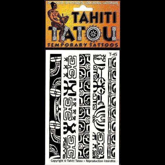 Smboles marquisiens sur votre peau pour une occasion ? Tahiti Tatou, tatouages temporaires en provenance directe de Tahiti
