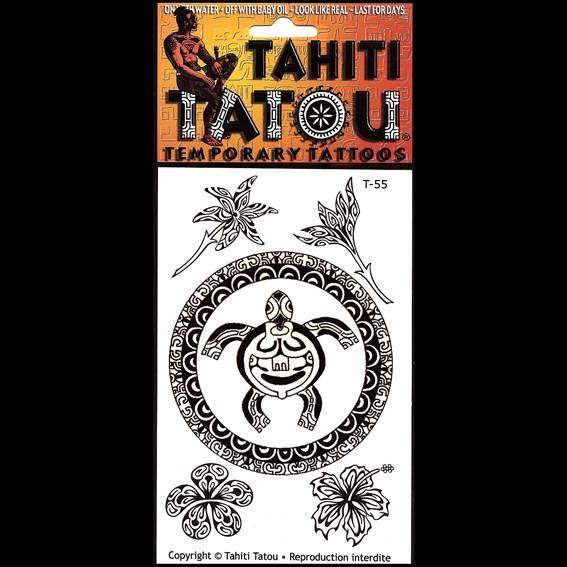 Fleurs ou Tortue sur votre peau pour une occasion ? Tahiti Tatou, tatouages temporaires en provenance directe de Tahiti