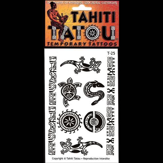 Symboles polynésiens sur votre peau pour une occasion ? Tahiti Tatou, tatouages temporaires en provenance directe de Tahiti