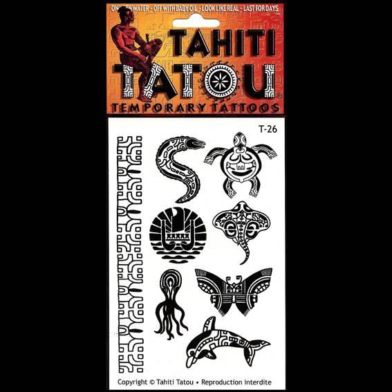 Un drôle d'animal sur votre peau pour une occasion ? Tahiti Tatou, tatouages temporaires en provenance directe de Tahiti