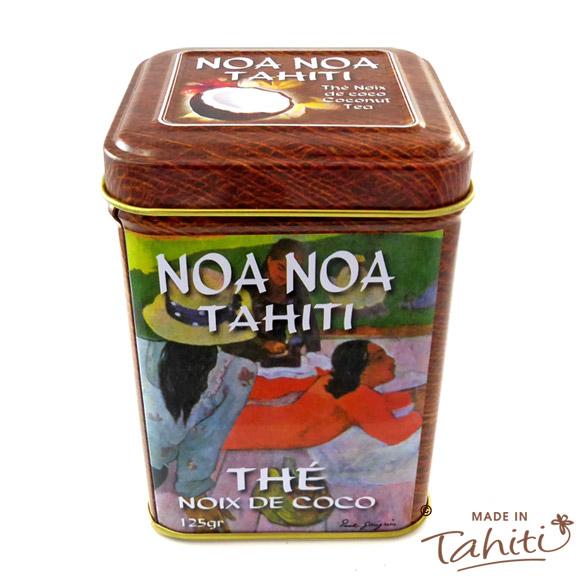BOITE METAL THE EN VRAC NOA NOA TAHITI AROME COCO 125G