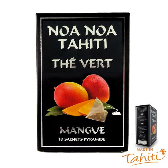 THE VERT MANGUE 100% NATUREL NOA NOA TAHITI 30 SACHETS