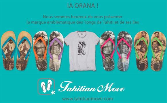 Message de Tahitian Move aux clients de La Boutique du Monoï