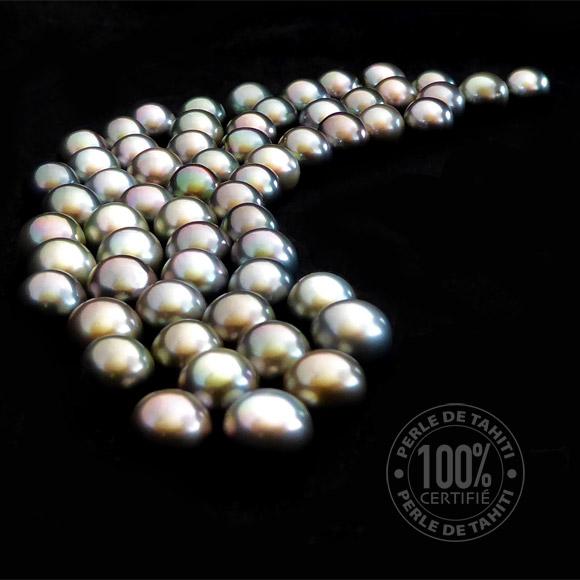 Perles de Tahiti certifiées dans les bougies au Monoï de Tahiti Edition Limitée