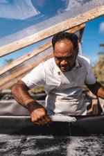 Sel de Bora Bora fabrication