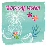 Tropical Monoi Hei Poa